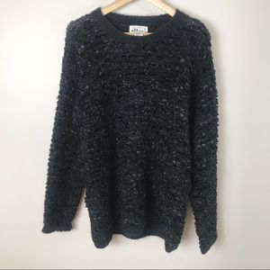 Vintage 90's Mixed Knit Oversized Mohair Blend